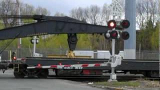 Pan Am Railways Wreck Train Rolling Through District 2 - 4/18/10