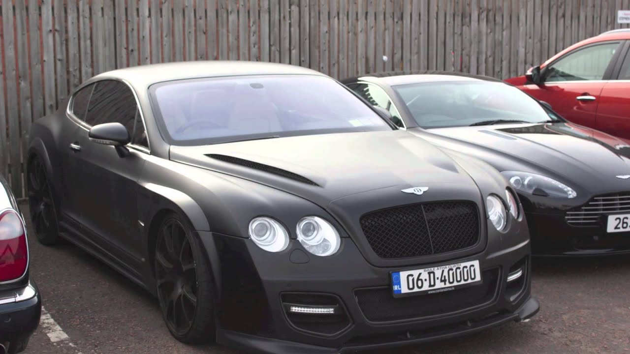 Onyx Bentley Continental Gt Youtube