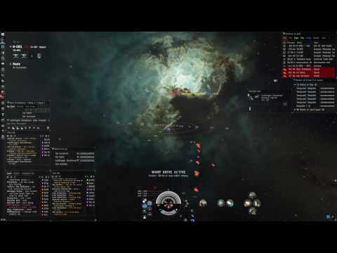 Eve Online ANTWE Roam Clip 4/30/17: Newbie Lessons and Hostiles About
