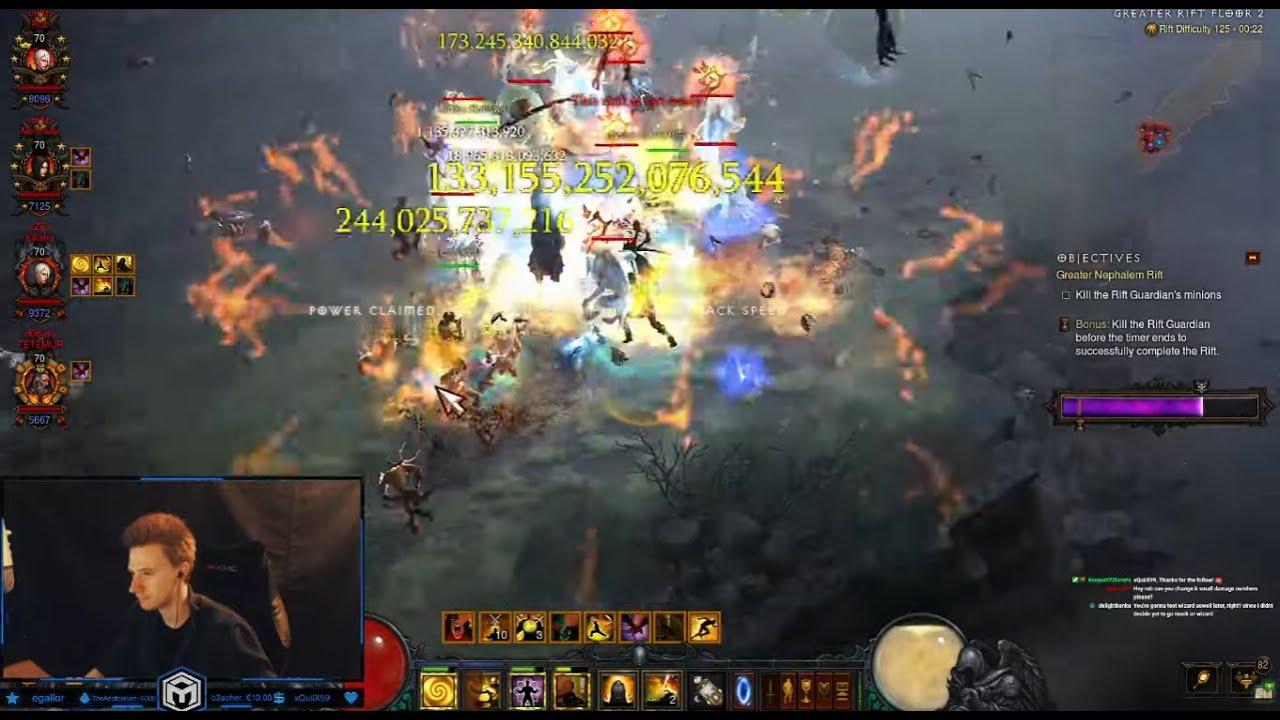 [D3 2.7.1] Fire LoD WoL Monk Speed META GR125 Blast