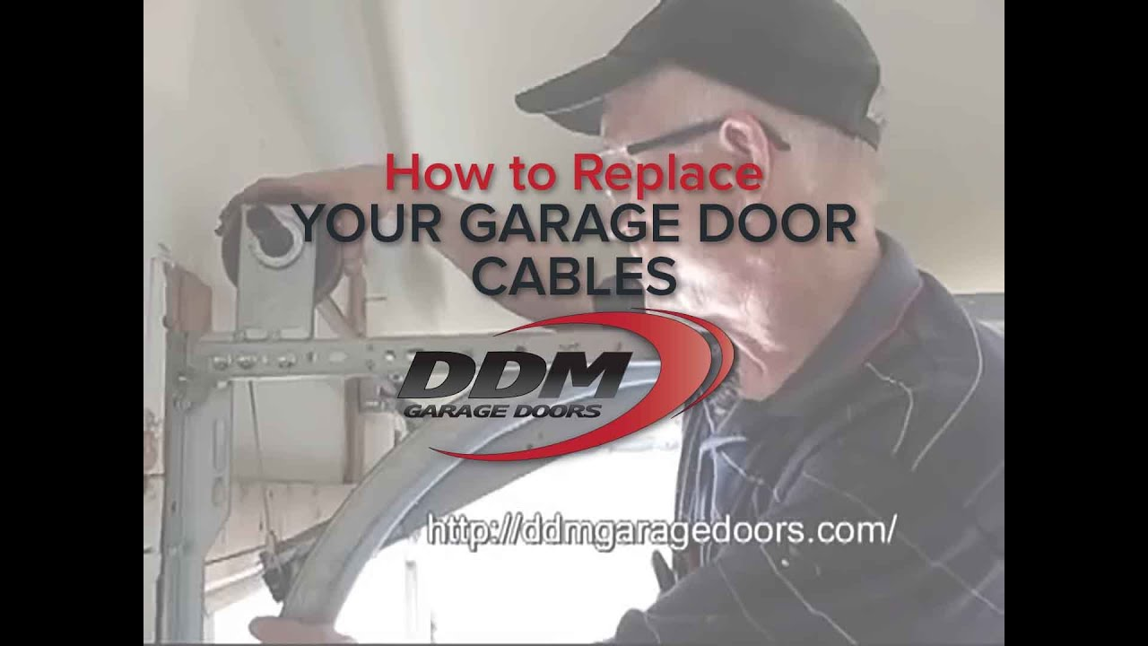 Garage door cable broke - Garage Door Cable Broke 32