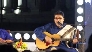 Anupam Roy sings Beche Thakar Gaan at Tata Steel Kolkata Literary Meet Kalam 2018