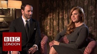 Tom Ford & Amy Adams 'Nocturnal Animals' interview - BBC London News