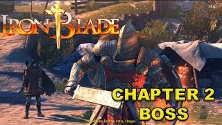 IRON BLADE MEDIEVAL LEGENDS RPG Android / iOS Gameplay - CHAPTER 2 BOSS