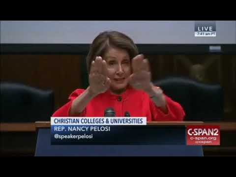 Manny's - Nancy Pelosi keeps quoting Bible Verse that Doesn't Exist