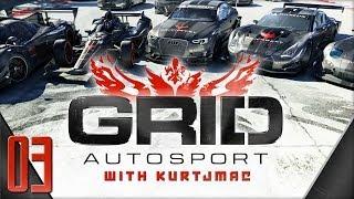 GRID Autosport Career Mode - 03 - Kurt vs. Kurt
