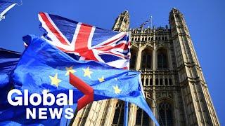 U.K. lawmakers debate, vote on the Withdrawal Agreement bill