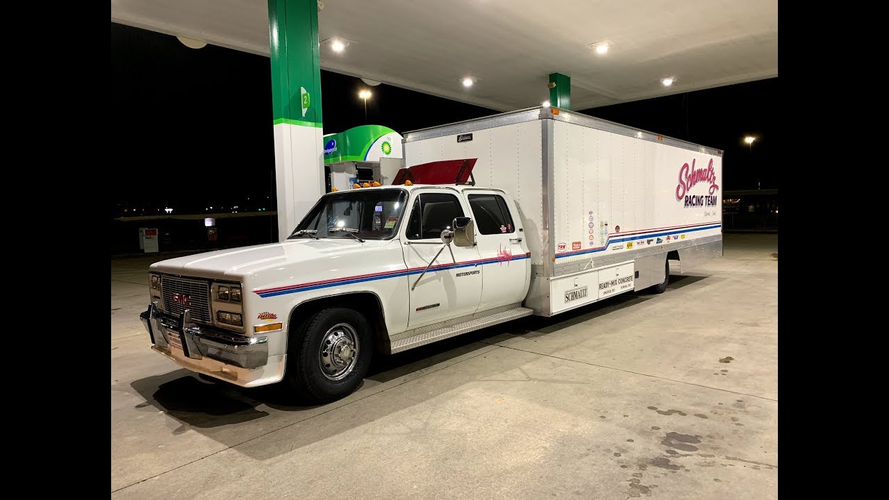 Finnegan's Garage Ep 59: I Bought The World's Longest Squarebody Ramp Truck  and it Tried to Kill Me!