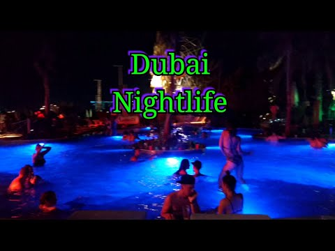 Dubai Nightlife 😍|| Barasti Beach Club.