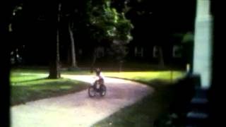 Learning to Ride on Governors Island NYC 1982