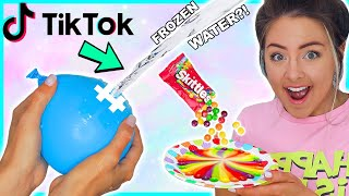 Testing Viral Tiktok Life Hacks ! Food Hacks, Tricks, Experiments Success Or Disaster!?