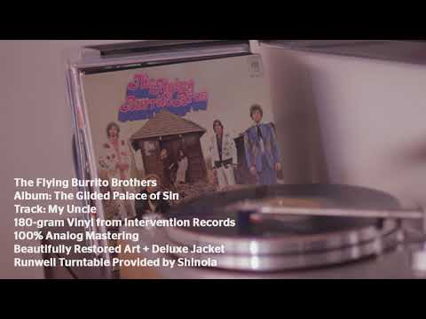 "The Flying Burrito Brothers ""My Uncle"" - The Gilded Palace of Sin from Intervention Records"