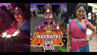 VLOG: Navratri 2018 + GIVEAWAY WINNER ** B Beautiful by Binita**