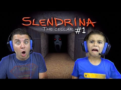 FINDING OUT ALL THE SECRETS OF SLENDRINA!! Slendrina The Cellar #1
