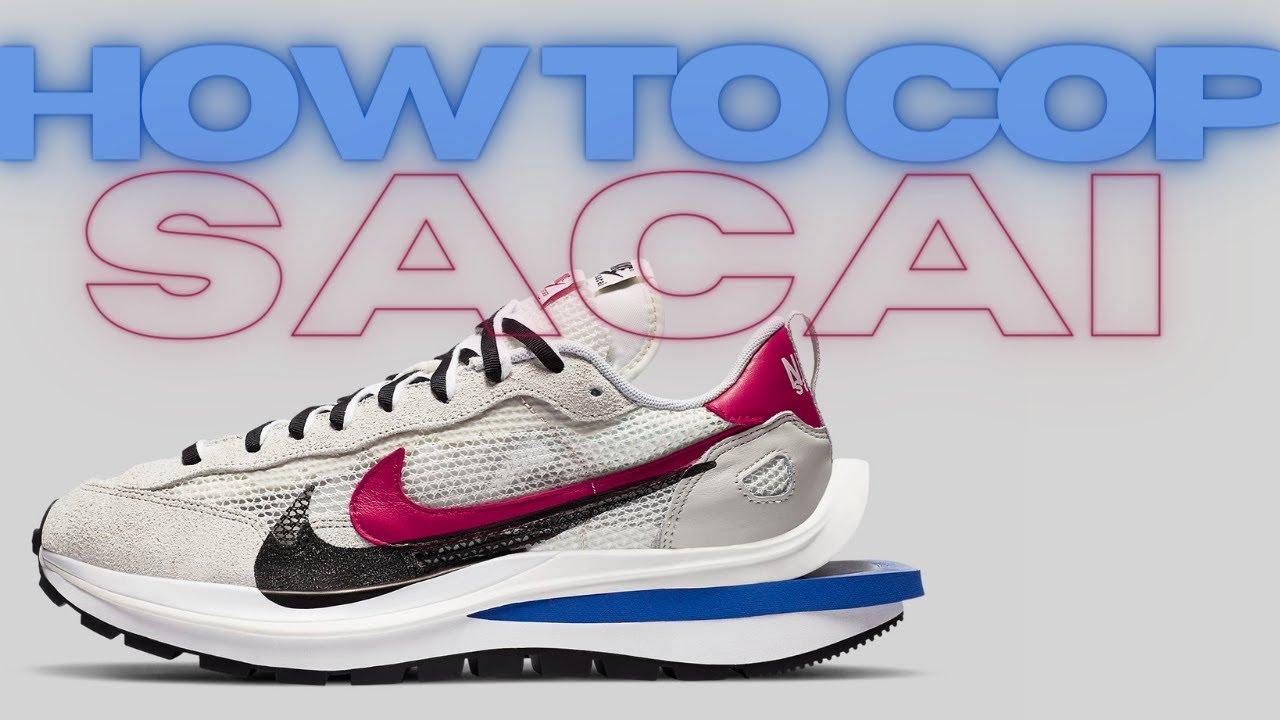 Sacai x Nike Vaporwaffle | HOW TO COP