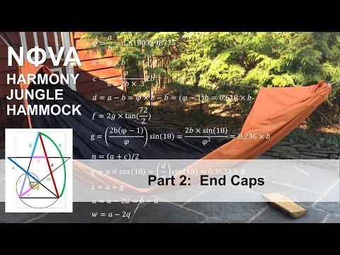 Nova Harmony Jungle Hammock Part 2: End Caps