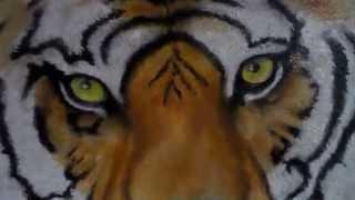 Портрет Тигра - масло