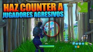 TÉCNICAS AVANZADAS de TURTLING para hacer COUNTER a jugadores AGRESIVOS - Fortnite Battle Royale