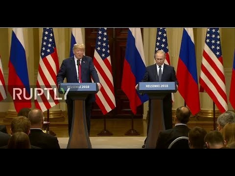 Live: Putin and Trump hold joint press conference in Helsinki