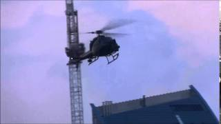 Toronto Movie Shoot - Helicopter Pass