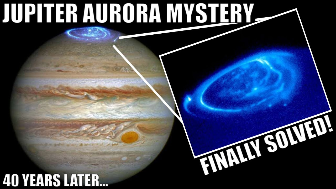 The Mystery of Jupiter's Aurora Finally Solved After 40+ Years