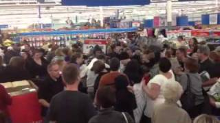 Walmart Black Friday Madness 2011