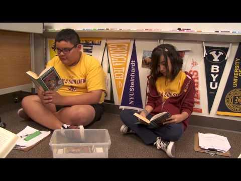 AVID goes to college: Palomino Intermediate School