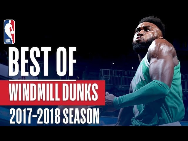 Best Windmills of the 2018 NBA Season! | LeBron James, Donovan Mitchell, Jaylen Brown and More!