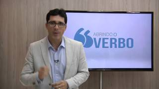 Pr. Arthur Pereira no quadro Abrindo o Verbo!