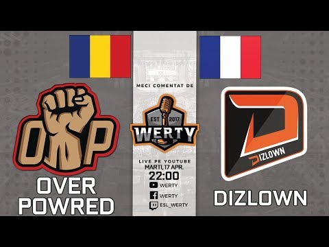 (RO CS:GO) OVERPOWERED (RO) vs. DIZLOWN (FR) - FINALA UPPER BRACKET CEVO