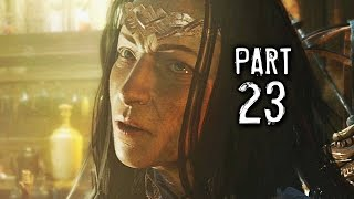 Middle Earth Shadow of Mordor Walkthrough Gameplay Part 23 - The Knife (PS4)
