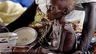 açlık.afrikada insanlar..