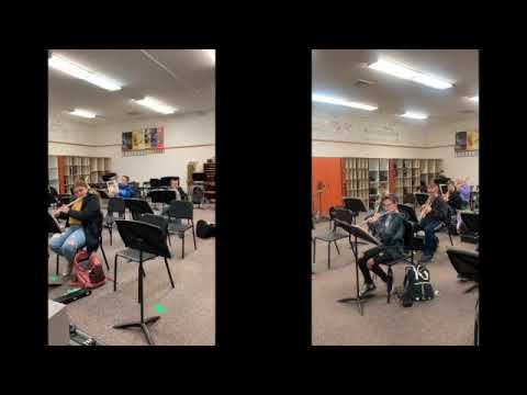 Shenandoah Alameda Middle School Advanced Band   SD 480p