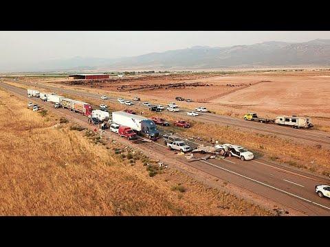 فيديو | مقتل 8 أشخاص على الأقل في حادث سير مرعب في يوتا الأميركية …  - نشر قبل 2 ساعة