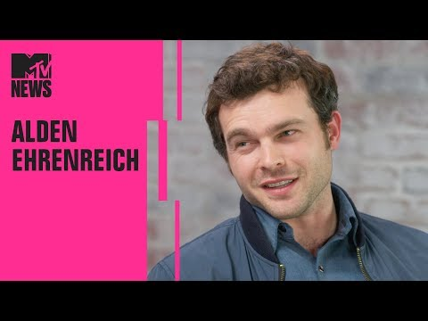 Alden Ehrenreich in the 'Han Solo' Hot Seat 🔥 🔥 🔥  MTV
