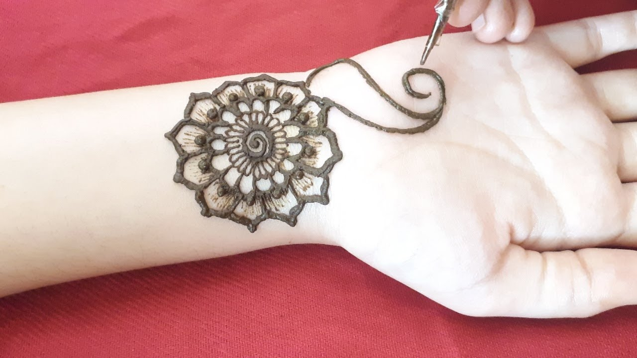 Front Hand Arabic Mehndi Designs Simple Easy Mehendi Designs 2019 म ह द ड ज ईन