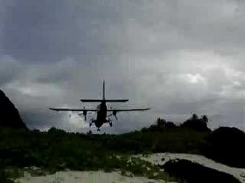 Dornier landing & take-off at Ofu Island