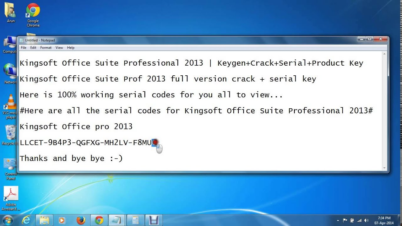 Kingsoft office suite professional 2013 keygen crack - Office professional plus 2013 license key ...