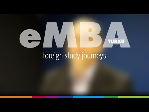 EMBA Turku foreign study journeys