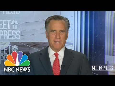 Full Romney Interview: Trump Should Be 'Careful' In His Next Steps | Meet The Press | NBC