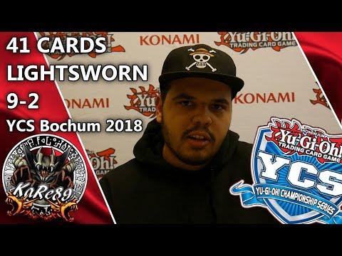 9-2 / 41 Cards Lightsworn / YCS Bochum 2018 by Dean Chibani