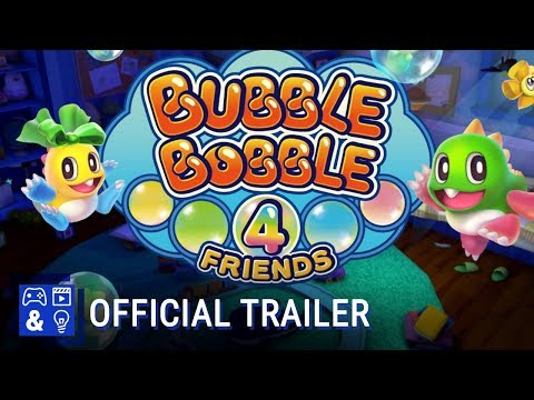 Bubble Bobble sequel brings four player co-op to Switch