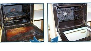 5 дакикада ёгли корайган духовка газни окартириш,чистим грязный духовке бистро и легко