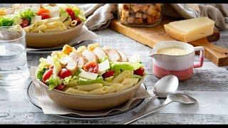 [EN] Chicken Caesar Pasta Salad / سلطة سيزر بالدجاج والمعكرونة - CookingWithAlia - Episode 742
