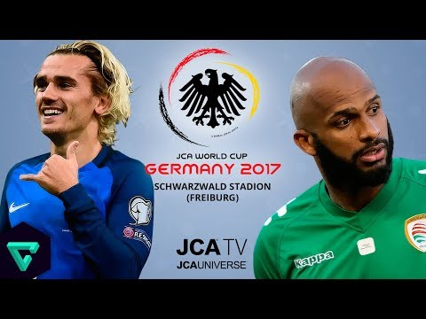 France vs. Oman | Group F | 2017 JCA World Cup Germany | PES