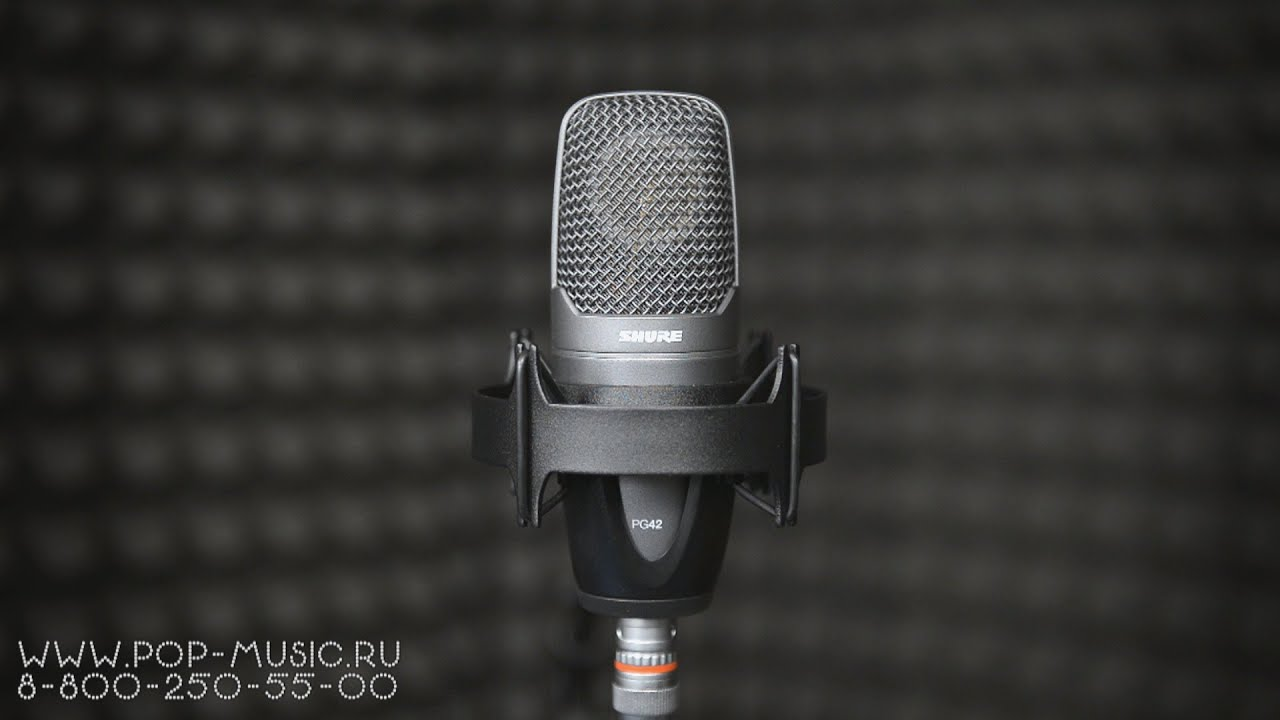 shure pg42 condenser microphone review youtube. Black Bedroom Furniture Sets. Home Design Ideas