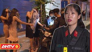 Nữ cảnh sát cơ động làm gì trong đêm? | An toàn sống | ANTV