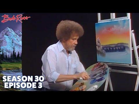 Bob Ross - Winter's Peace (Season 30 Episode 3)