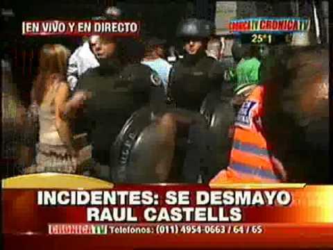 Impidieron a Raúl Castells ingresar al Congreso y generó tensión en la jornada de jura de diputados