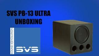 SVS PB13 Ultra Unboxing